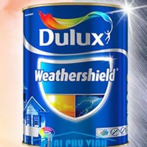 Sơn Dulux Weathershield ngoại thất - Sơn Dulux ngoài trời cao cấp