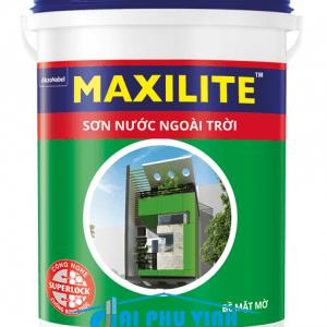Sơn nước ngoài trời Maxilite - Sơn nước maxilite ngoại thất cao cấp