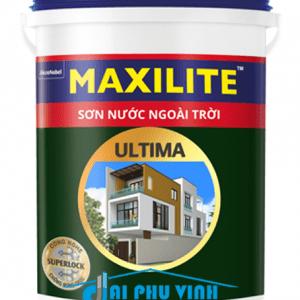 Sơn nước ngoài trời Maxilite Ultima - Sơn nước ngoại thất Maxilite cao cấp