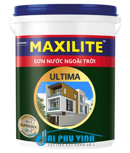 Sơn nước ngoài trời Maxilite Ultima – Sơn nước ngoại thất Maxilite cao cấp