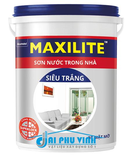 Sơn nước trong nhà Maxilite siêu trắng – Sơn nước Maxilite trong nhà