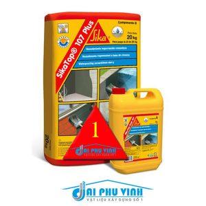 SikaTop 107 Plus - Sản phẩm chống thấm sàn mái, bể nước, nhà vệ sinh