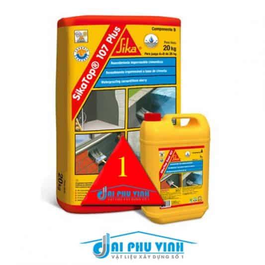 SikaTop 107 Plus – Sản phẩm chống thấm sàn mái, bể nước, nhà vệ sinh