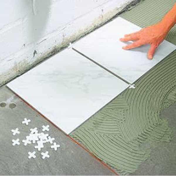 Ke chữ thập lát gạch - ke nhựa lát gạch - Ron chữ thập lát gạch