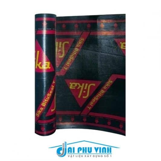 Sika Bituseal – Vật liệu chống thấm Sika Bituseal dạng tấm mỏng khò nóng