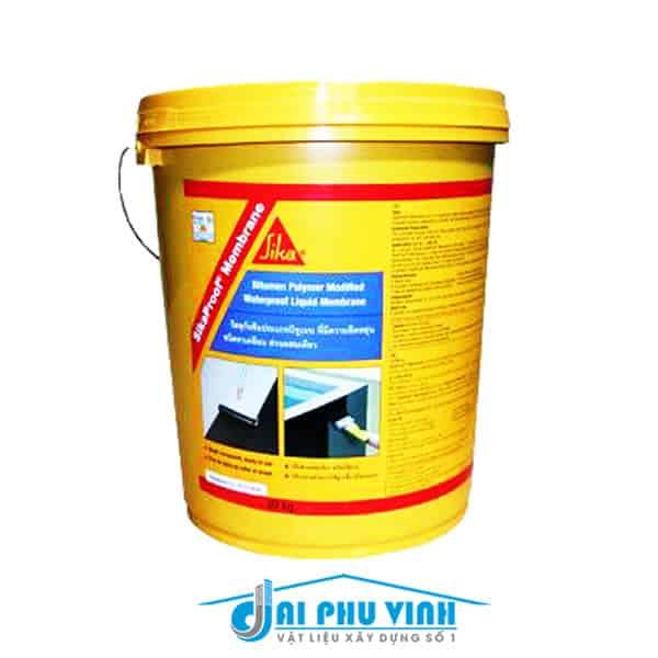 Sikaproof Membrane - Chống thấm sàn mái phẳng, tầng hầm, ban công