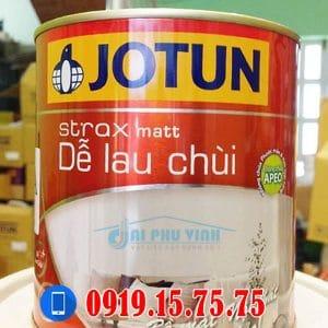 JOTUN STRAX MATT DỄ LAU CHÙI - THÙNG 17L
