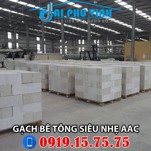 Gạch bê tông siêu nhẹ AAC - Liên hệ mua hàng 0919157575