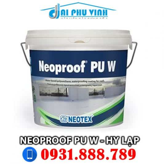 Neoproof PU W Grey or White 13kg. Đặt hàng Lh 0931.888.789