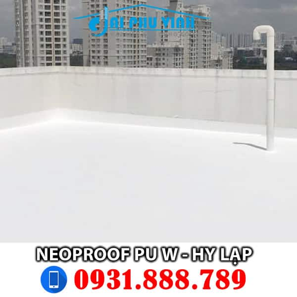 Neoproof PU W Grey or White 13kg - Đặt hàng LH 0931888789
