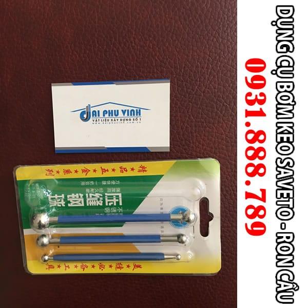 Ron cầu thi công Keo chít mạch Saveto - Keo chà ron Saveto cao cấp. Lh 0931.888.789