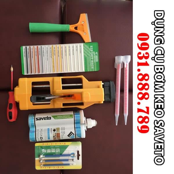 Bộ dụng cụ dùng để thi công keo chít mạch saveto - keo chà ron saveto. Lh 0931888789
