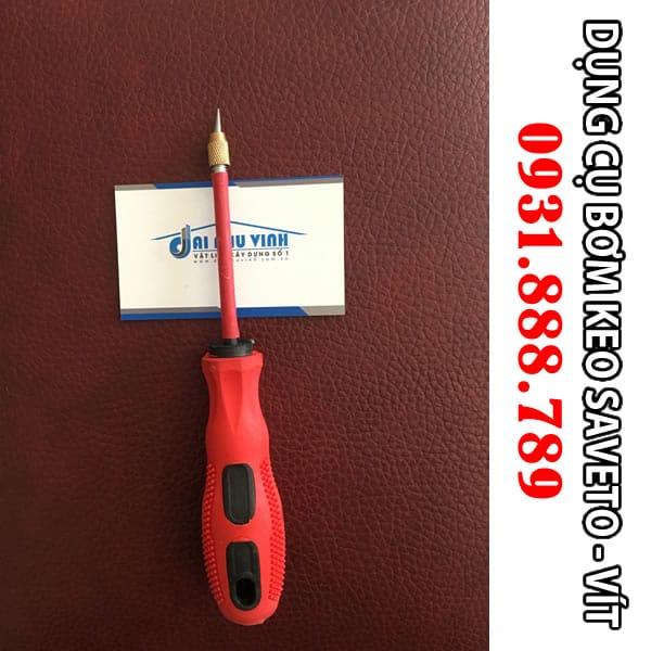 Vít thi công Keo chít mạch Saveto - Keo chà ron Saveto cao cấp. Lh 0931.888.789