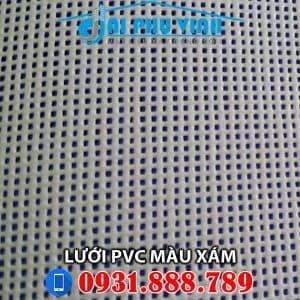 Lưới PVC màu xám cho công trình. Lh 0931888789