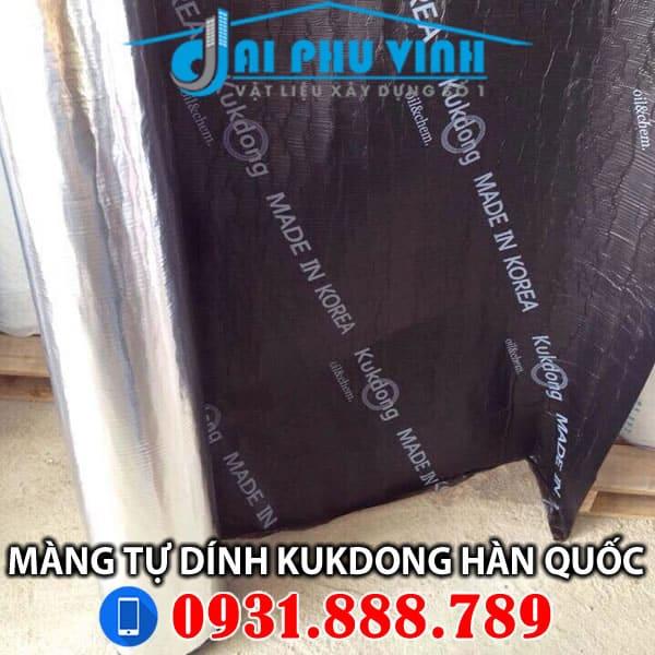 Màng chống thấm tự dính Kukdong hàn quốc. Lh 0931888789