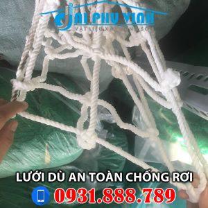 Lưới an toàn - Lưới dù an toàn - Lưới chống rơi Lh 0931888789
