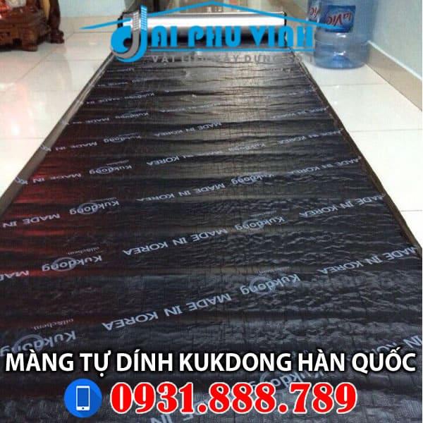 màng chống thấm tự dính KUDONG Hàn Quốc 0919 15 7575