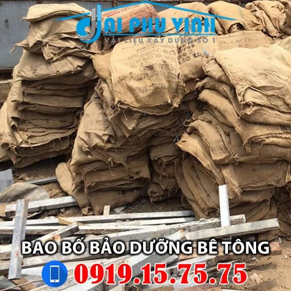 Liên hệ mua bao bố bảo dưỡng bê tông, dưỡng ẩm bê tông Gọi 0919157575