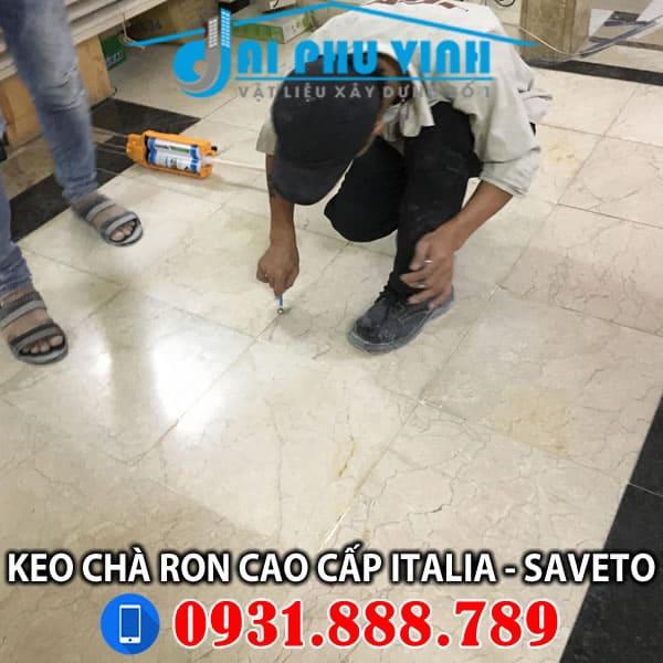 Những lưu ý khi thi công Keo chà ron Saveto - Keo chít mạch Saveto